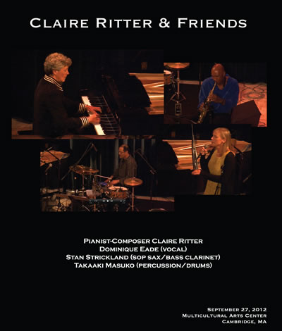Claire Ritter and Friends DVD Cover